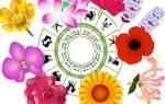 Цветы по гороскопу
