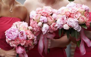 Какие цветы заказывать на бракосочетание?